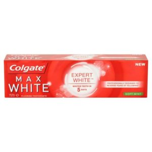 Colgate Max White Expert Toothpaste Soft Mint 75ml