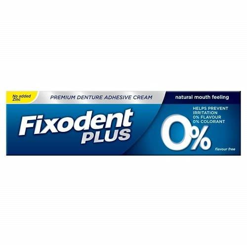 Fixodent Plus 0% Premium Denture Adhesive 40gm