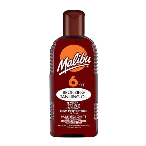 Malibu Bronzing Tanning Oil With SPF6 200ml