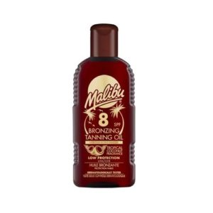 Malibu Bronzing Tanning Oil With Spf8 200ml