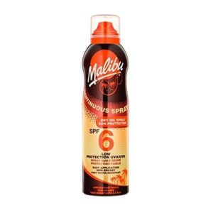 Malibu Continuous Dry Oil Spray With SPF6 175ml