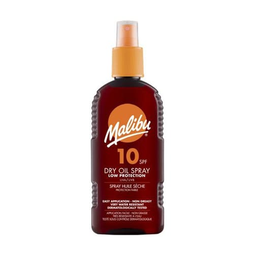 Malibu Dry Oil Spray With SPF10 200ml