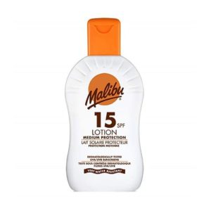 Malibu High Protection Lotion Uva/Uvb Sunscreen SPF15 200ml
