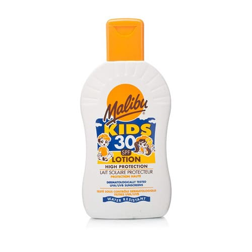 Malibu Kids Sun Lotion With SPF30 200ml
