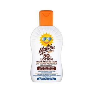 Malibu Kids Sun Lotion With SPF50 200ml