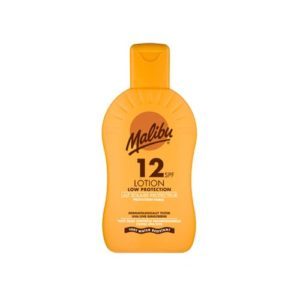 Malibu Protective Sun Lotion Spf12 Low Protection 200ml