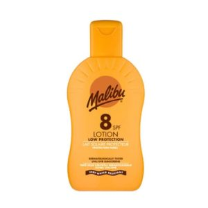 Malibu Protective Sun Lotion Spray SPF8 Medium Protection 200ml