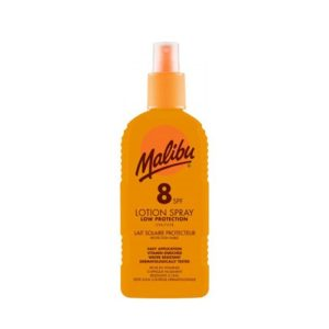 Malibu Sun Lotion Spray SPF8 Medium Protection Water Resistant 200ml