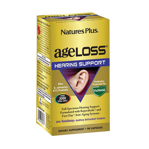 Nature's Plus AgeLoss Hearing Support 90 Capsules