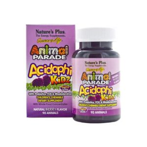Nature's Plus Animal Parade Acidophi Kids 90 Animals