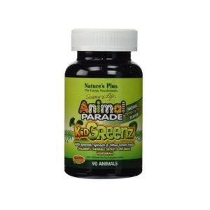 Nature's Plus Animal Parade Kid Greenz 250 Mg 90 Chewable Tablets