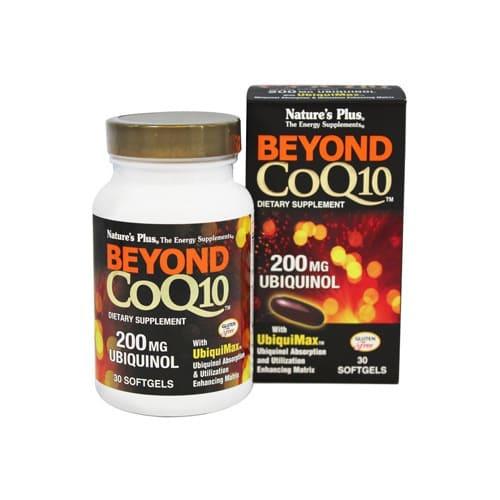 Nature's Plus Beyond Coq10 Ubiquinol 200mg 30 Softgels
