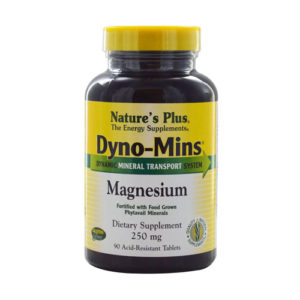 Nature's Plus Dyno-Mins Magnesium 250mg - 90 Tablets