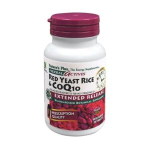 Nature's Plus Red Yeast Rice 600 Mg 30 Servings