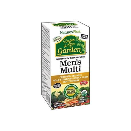 Nature's Plus Source Of Life Garden Mens Multi - 90 Vegan Tablets