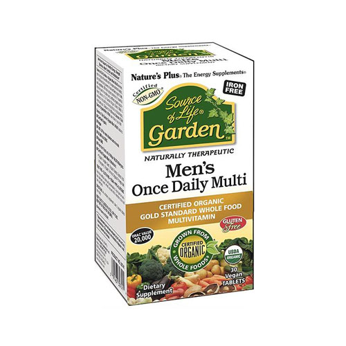 Nature's Plus Source Of Life Garden Mens Once Daily - 30 Vegan Tablets