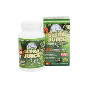 Nature's Plus Ultra Juice Green Tablets - 90 Tablets