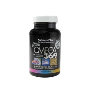 Nature's Plus Ultra Omega 3/6/9 1200mg Softgels - 60 Softgels