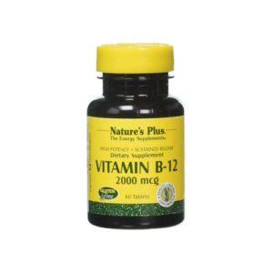 Nature's Plus Vitamin B-12 2000mcg 60 Tablets