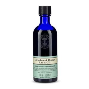Neal's Yard Geranium & Orange Bath Oil 100ml
