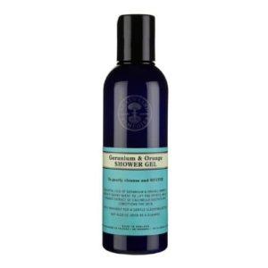 Neal's Yard Remedies Body Care Geranium & Orange Shower Gel 200ml