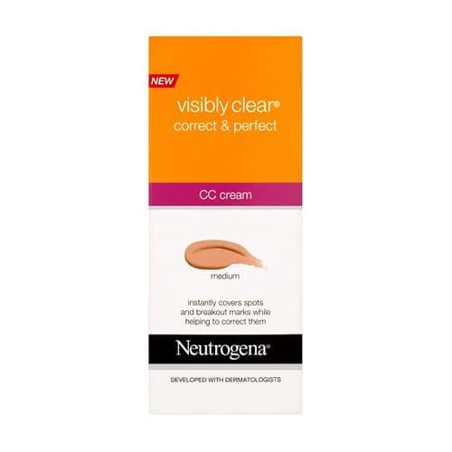 Neutrogena Visibly Clear Correct And Perfect CC Cream Medium 50ml