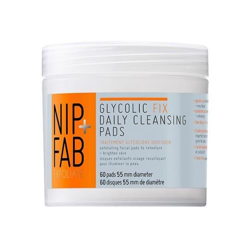 Nip+Fab Glycolic Fix Exfoliating Facial Pads 80ml