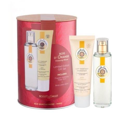 Roger & Gallet Bois D'orange Fragrance Tin Gift Box