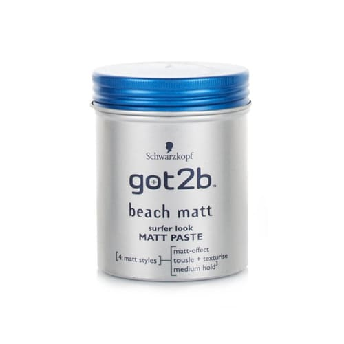 Schwarzkopf Got2b Beach Matt Surfer Look Matt Paste 100ml