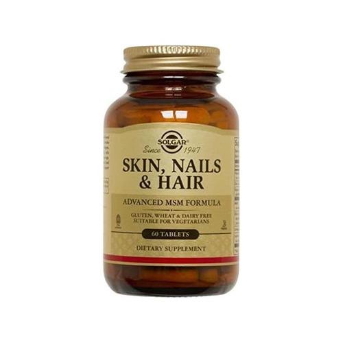 Solgar Skin-Nails and Hair Formula Tablets - 60 Tablets