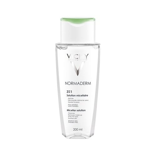 Vichy Normaderm 3-In-1 Micellar Solution - Makeup Remover 200ml