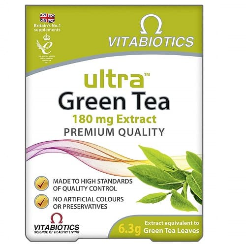 Vitabiotics Ultra Green Tea - 30 Tablets