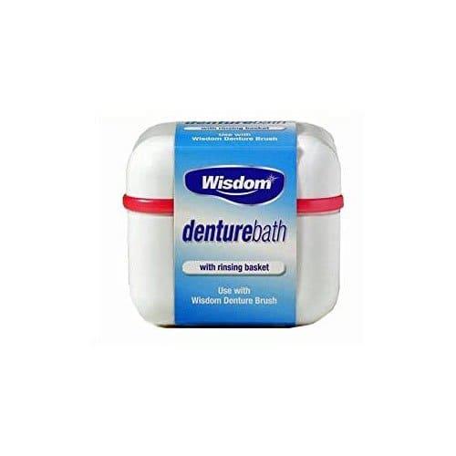 Wisdom Denture Bath With Rinsing Basket