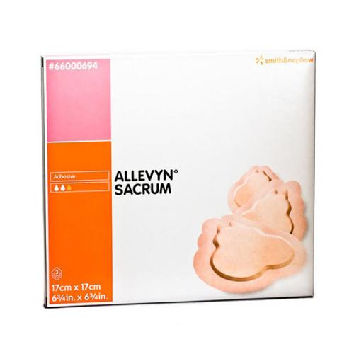 Allevyn Adhesive Sacrum Dressing (S) X 10 17cmx17cm
