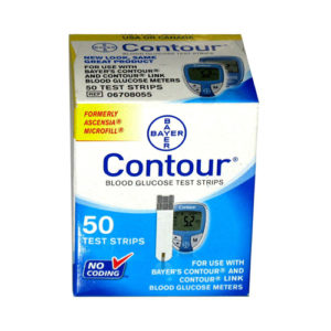 Contour Blood Glucose Test Strips 50