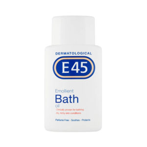 E45 Dermatological Emollient Bath Oil 250ml