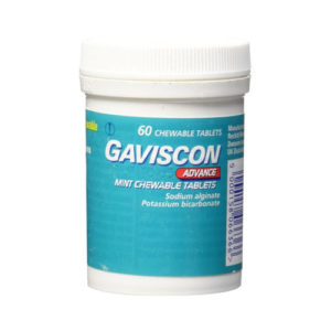 Gaviscon Heartburn Indigestion Mint Tablets - Pack of 60