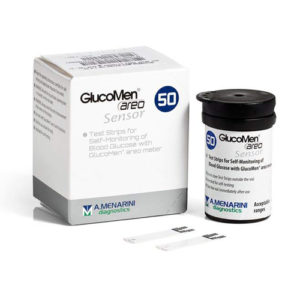 Glucomen Areo Glucose Diabetes Test Strips (X50)