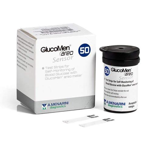 Glucomen Areo Glucose Diabetes Test Strips (X50)