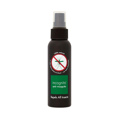 Incognito Natural Anti Mosquito Insect Repellent Spray 100ml Deet Free (Case Qty 6)