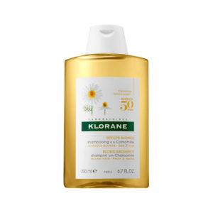 Klorane Camomile Shampoo For Blonde Hair 200ml