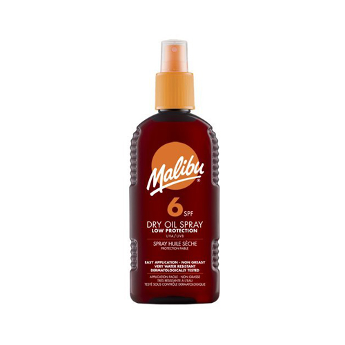 Malibu Dry Oil Spray With SPF6 200ml