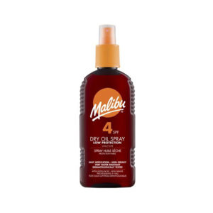 Malibu Dry Oil Suntan Lotion Spray SPF4 200ml