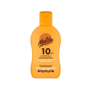 Malibu Protective Sun Lotion With SPF10 200ml
