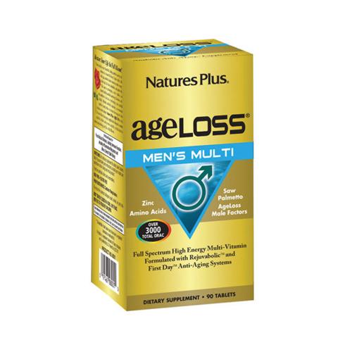 Nature's Plus Ageloss Men's Multi Tablets
