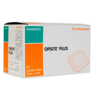 Opsite Plus Adhesive Film Dressing 6.5x5cm - 25