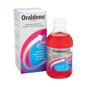 Oraldene Mouthwash Original 200ml (Case Of 12)