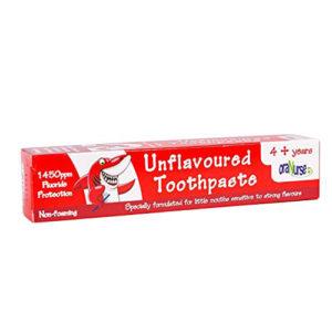 Oranurse 4+ Unflavoured Toothpaste 50ml