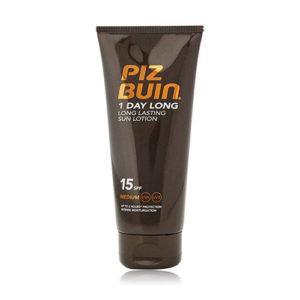 Piz Buin 1 Day Long Lasting Sun Lotion SPF 15 Medium 100ml