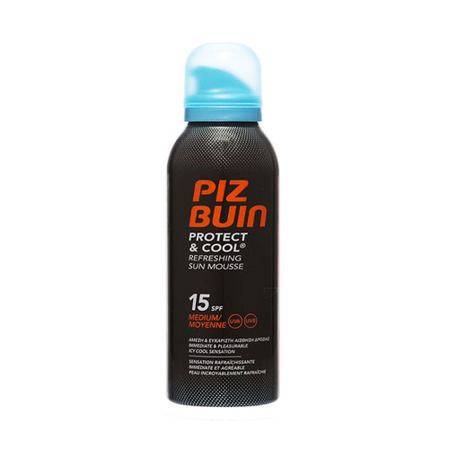Piz Buin Protect And Cool Refreshing Sun Mousse SPF15 150ml